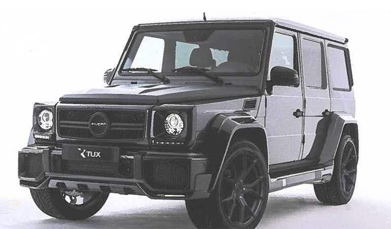 Mercedes-Benz G Wagon Tux Auto Body Kit, Newport South Wales