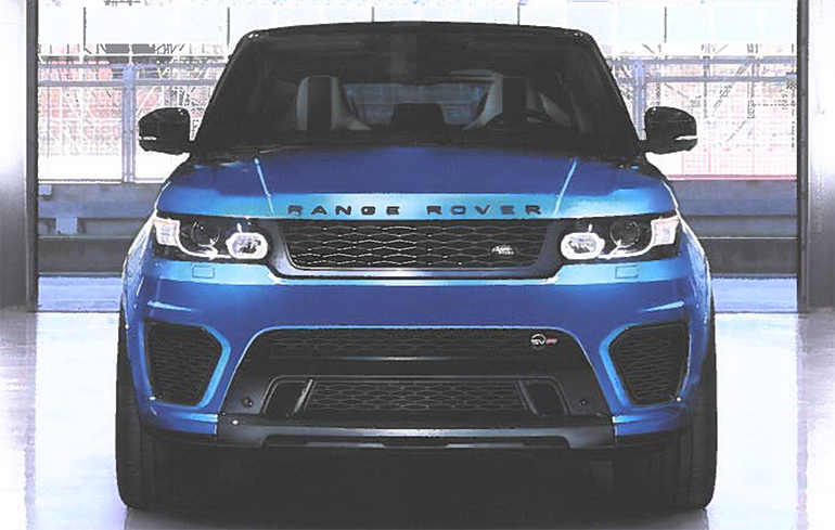Tux Auto Range Rover SVR Body Kit, Newport South Wales