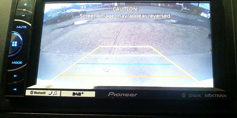 SJConcepts Parking Aids and Reversing Cameras Example Five