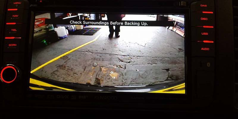 SJConcepts Parking Aids and Reversing Cameras Example Six